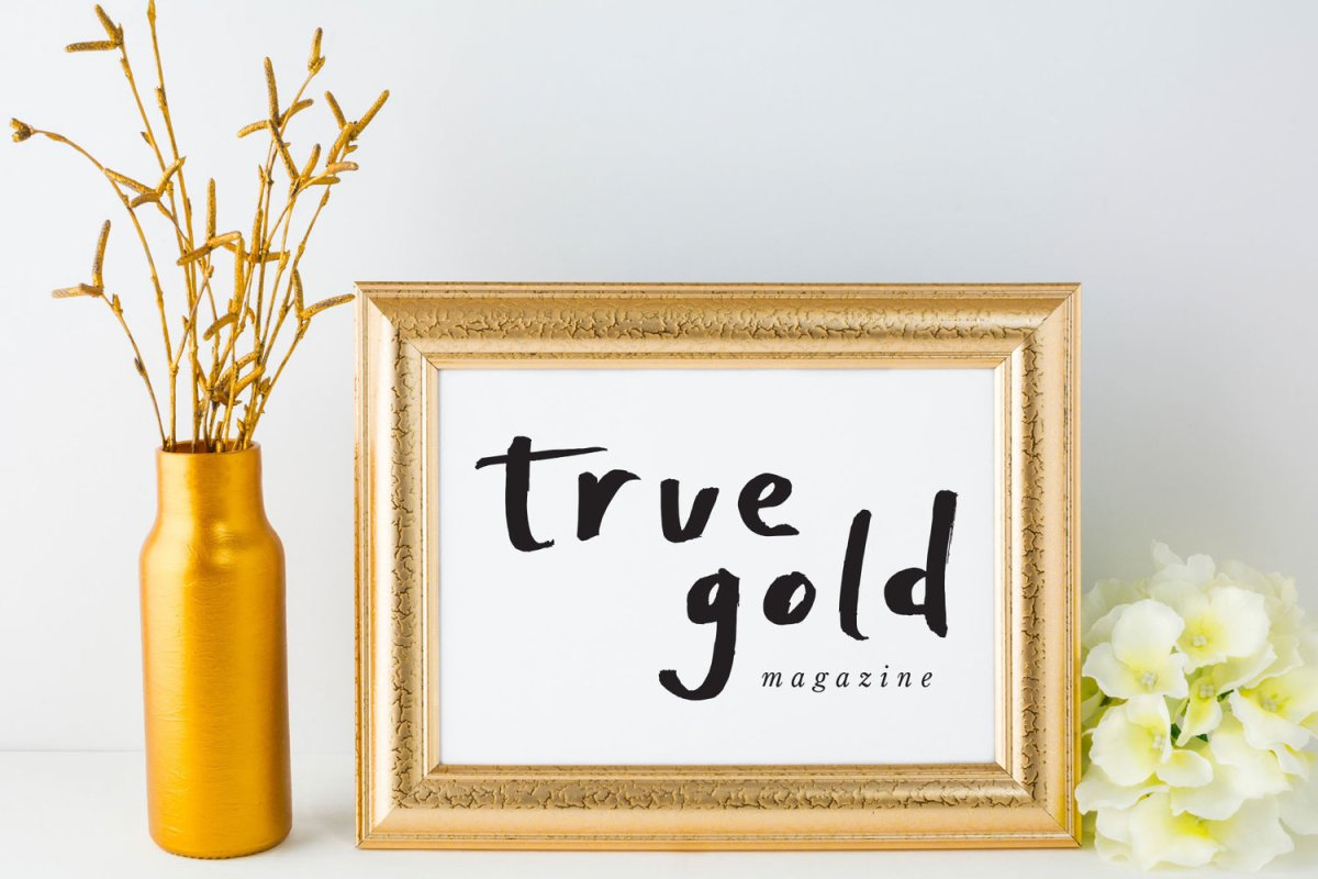 Saturday Share: True Gold Magazine with Chloe