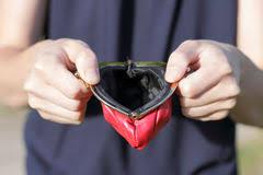 empty change purse