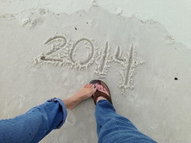 sandal new year