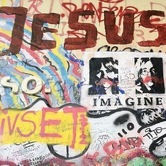 grafitti Jesus