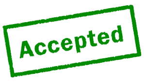 green accepted