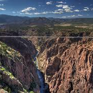 Royal Gorge from above