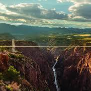 Royal Gorge view from the air