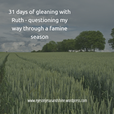 field of wheat 31 days