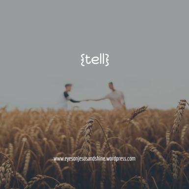 {tell}
