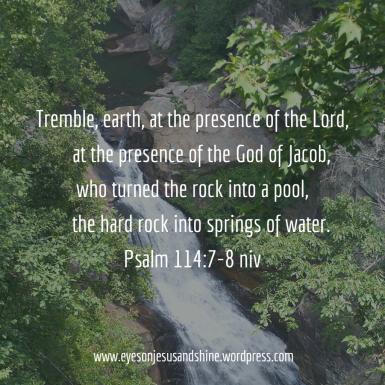 Psalm 114.7.8