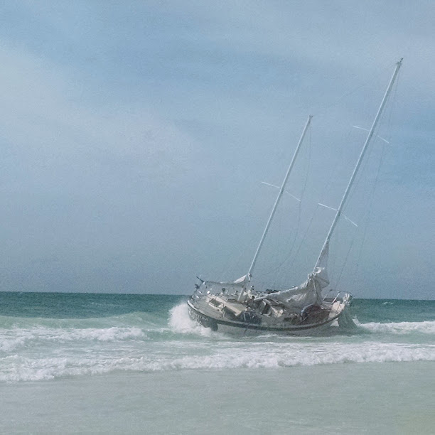 sailboat grounded