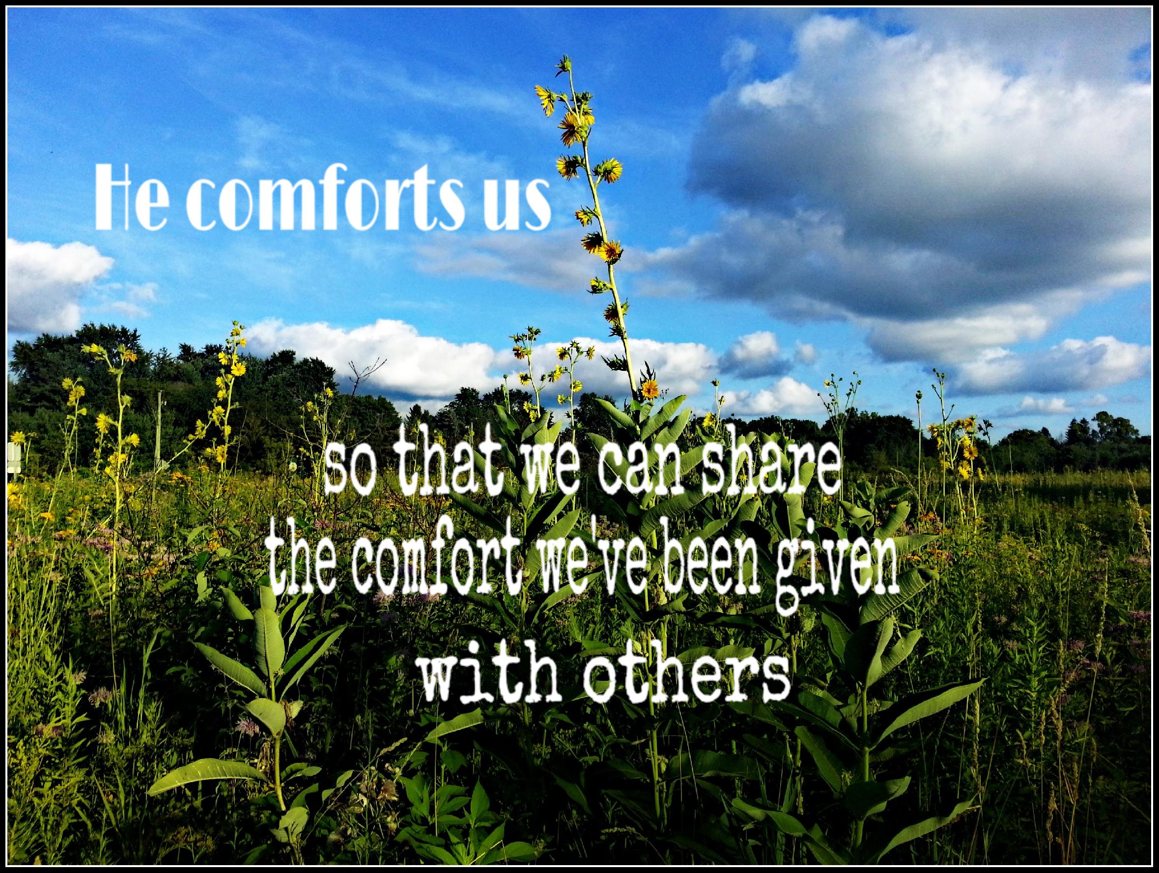 BG SS He comforts us
