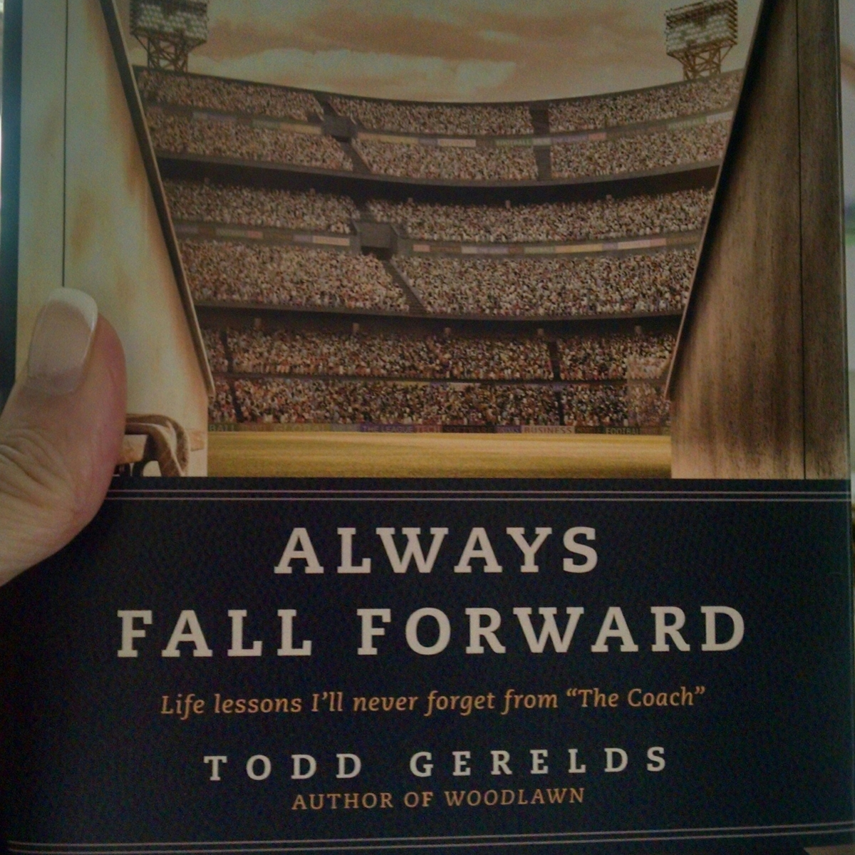 Book Review:  Always Fall Forward by Todd Gerelds