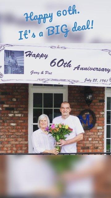 Happy 60th. It's a BIG deal!